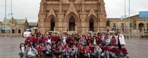 Los chicos de quinto visitaron Luján